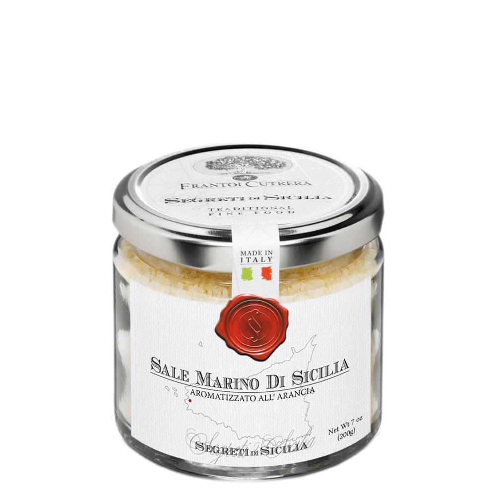Sale marino di Sicilia aromatizzato all'arancia