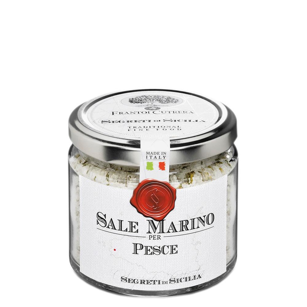 Sale marino di Sicilia aromatizzato per pesce